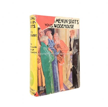 Young Men In Spats by P.G. Wodehouse Third Printing Herbert Jenkins c.1940